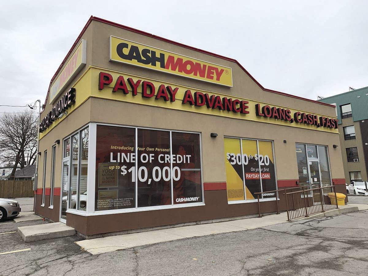 payday loan store graphic