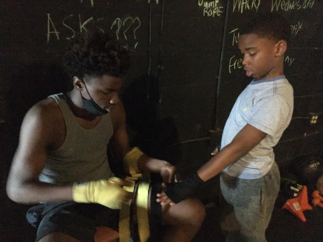 Young men of C.H.D. Boxing