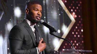 Jamie Foxx at the African American Film Critics Awards 2020