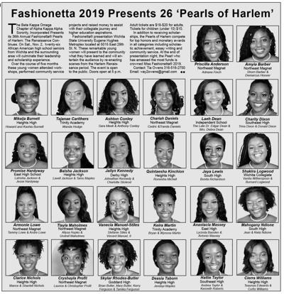 Fashionetta Wichita 2019 Pearls of Harlem