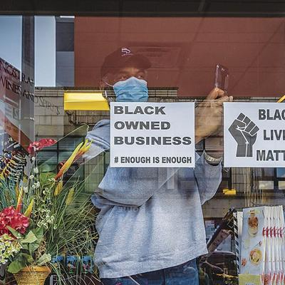 black owned business covid coronavirus shop owner african american