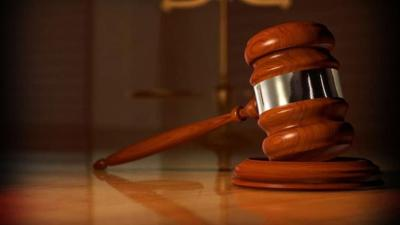 court ruling case gavel attorney justice stock photo