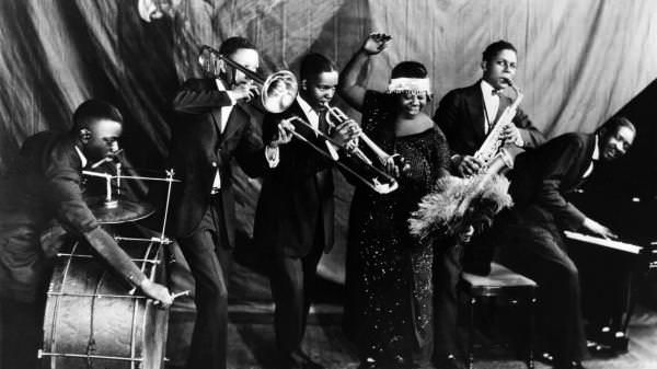 Harlem Renaissance Ma Rainey jazz band