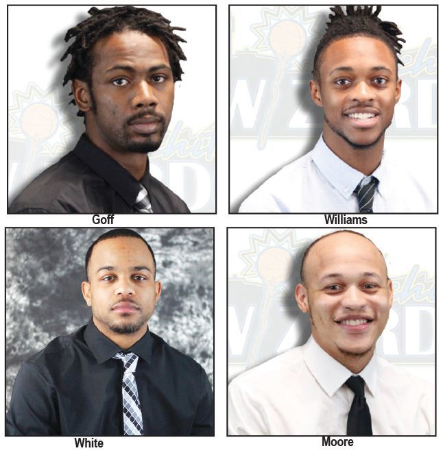 Wichita Wizards four players official photos