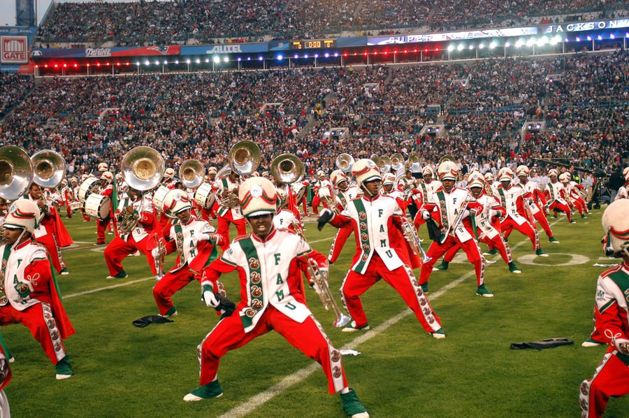 FAMU marching band william foster