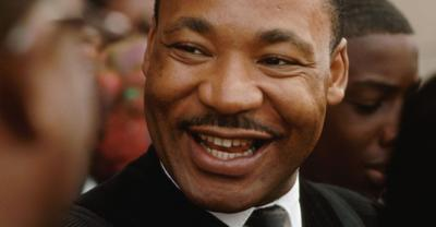 MLK smile martin luther king