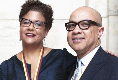Black leaders nonprofit executives Elizabeth Alexander,  Mellon Foundation, and Darren Walker,  Ford Foundation