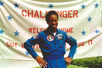 Black in Space guion bluford nasa