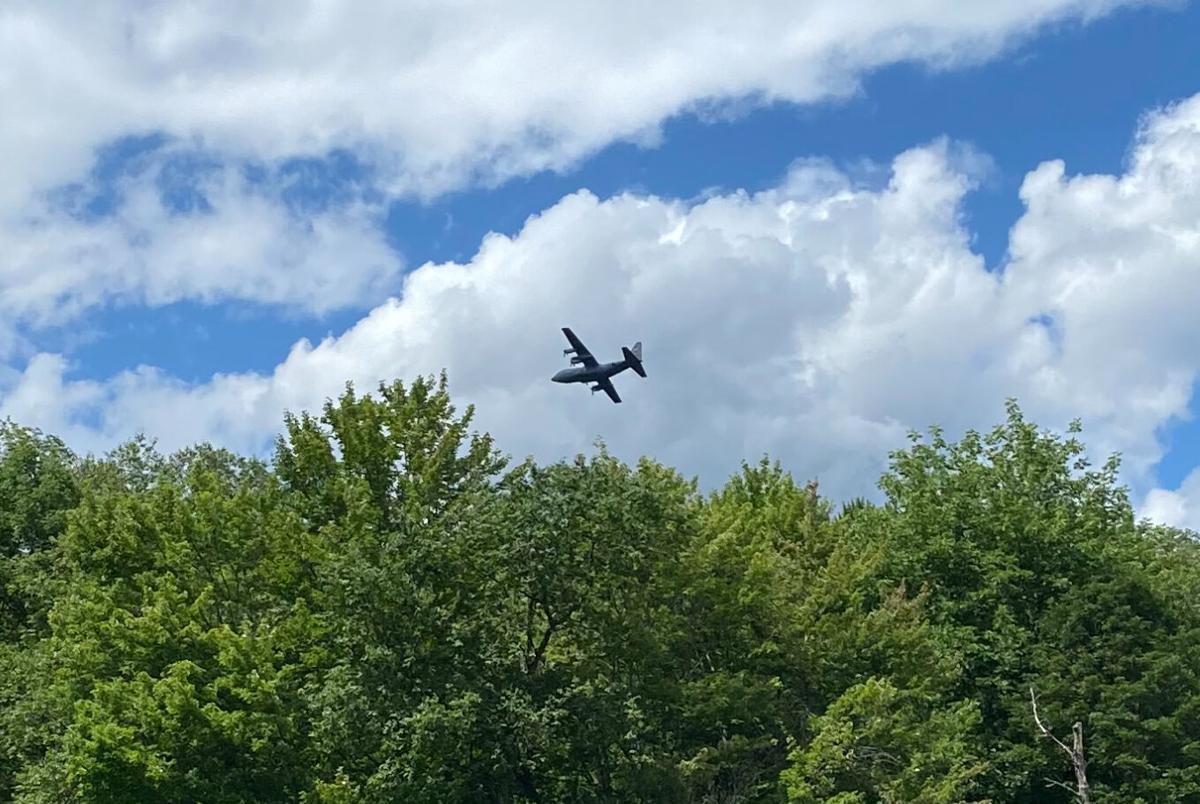 C-130 NORTHFIELD - CLOSE UP