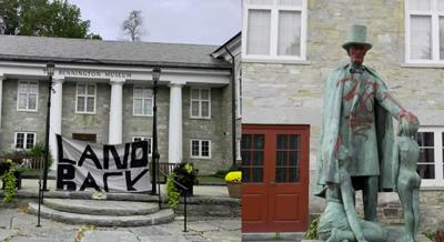 BENNINGTON MUSEUM DAMAGE