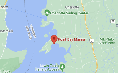 POINT MARINA BAY LAKE CHAMPLAIN