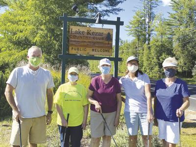 Third annual golf tournament at Lake Kezar Country Club