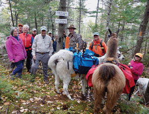 Shelburne Trails Club dedicated a hiking trail to long-time resident John Gralenski