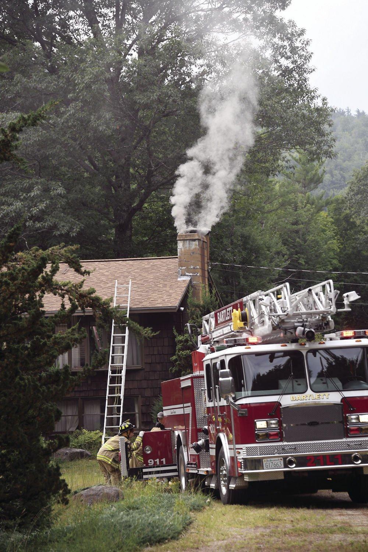 Bartlett responds to summer chimney fire | Local News