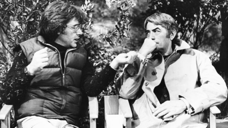 Richard Donner and Gregory Peck