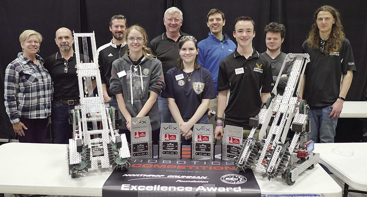 Kennett qualifies two teams for robotic world championships