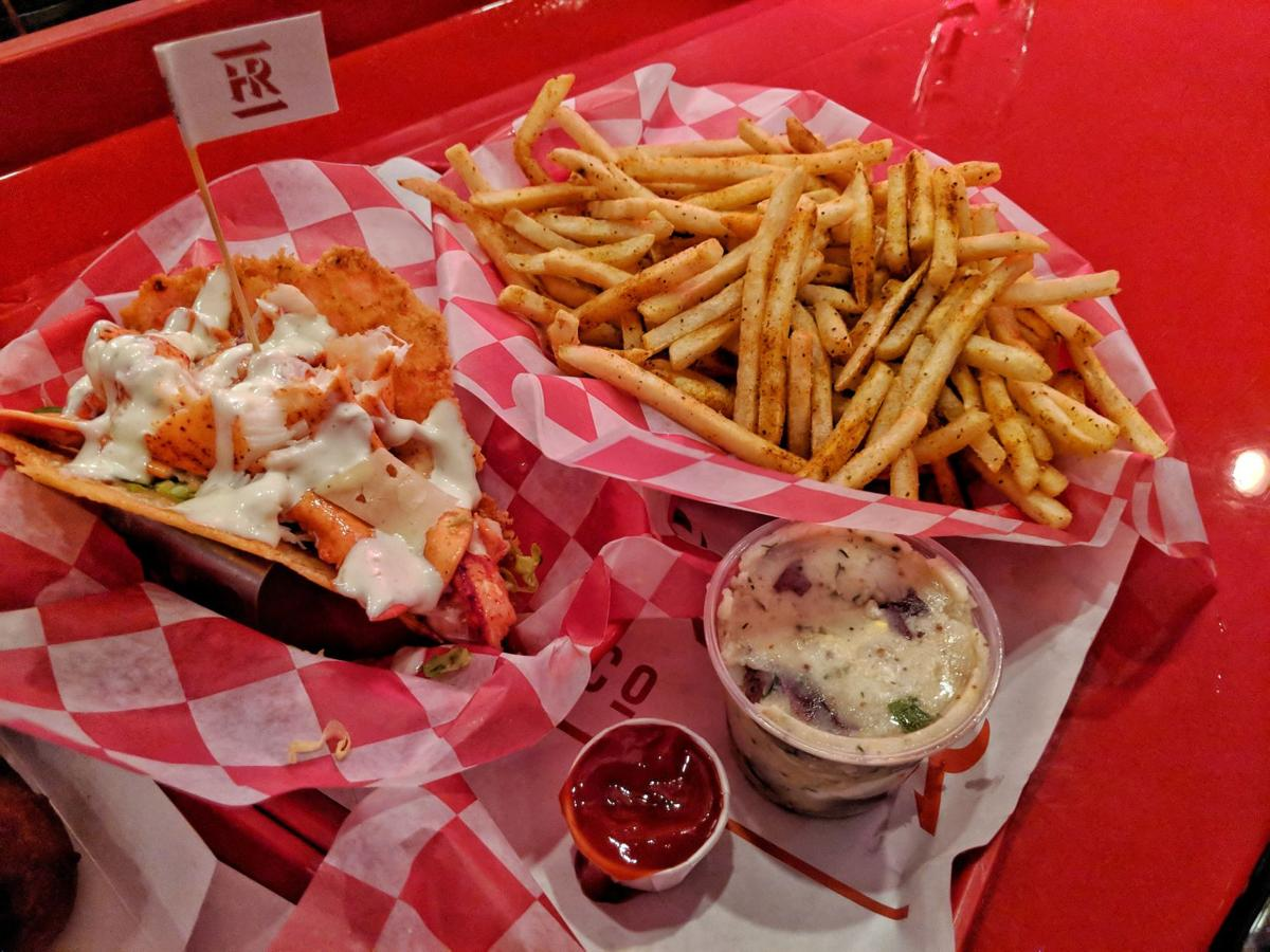 Lobster Cheese Crisp Taco and Old Bay Fries.jpeg
