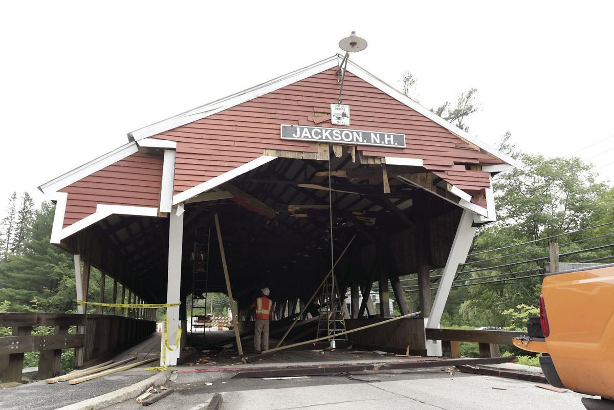 Jackson Covered Bridge struck again | Local News