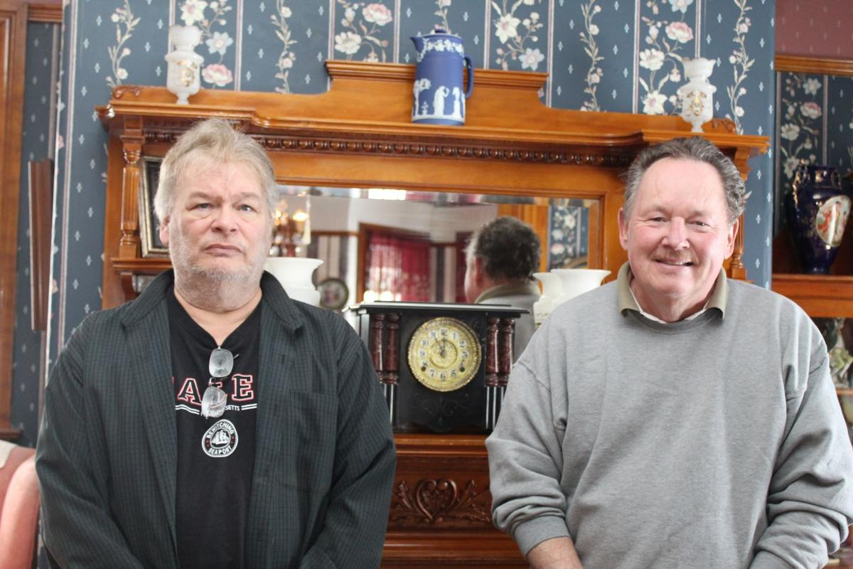 Bob Marcy and Paul Stream