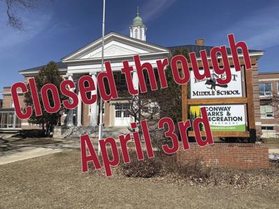 Conway Rec closed