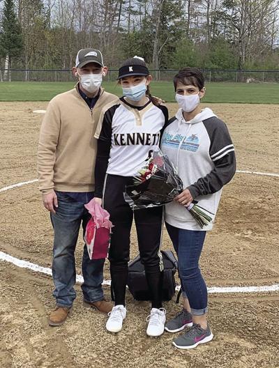 KHS softball - senior day - Amirah Daugherty