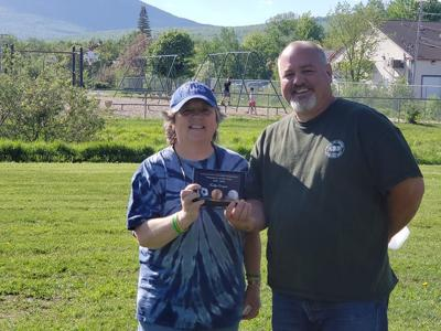 Gorham Volunteer of the Year Kathy Corrigan