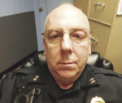 Chief Aaron Mick in Uniform