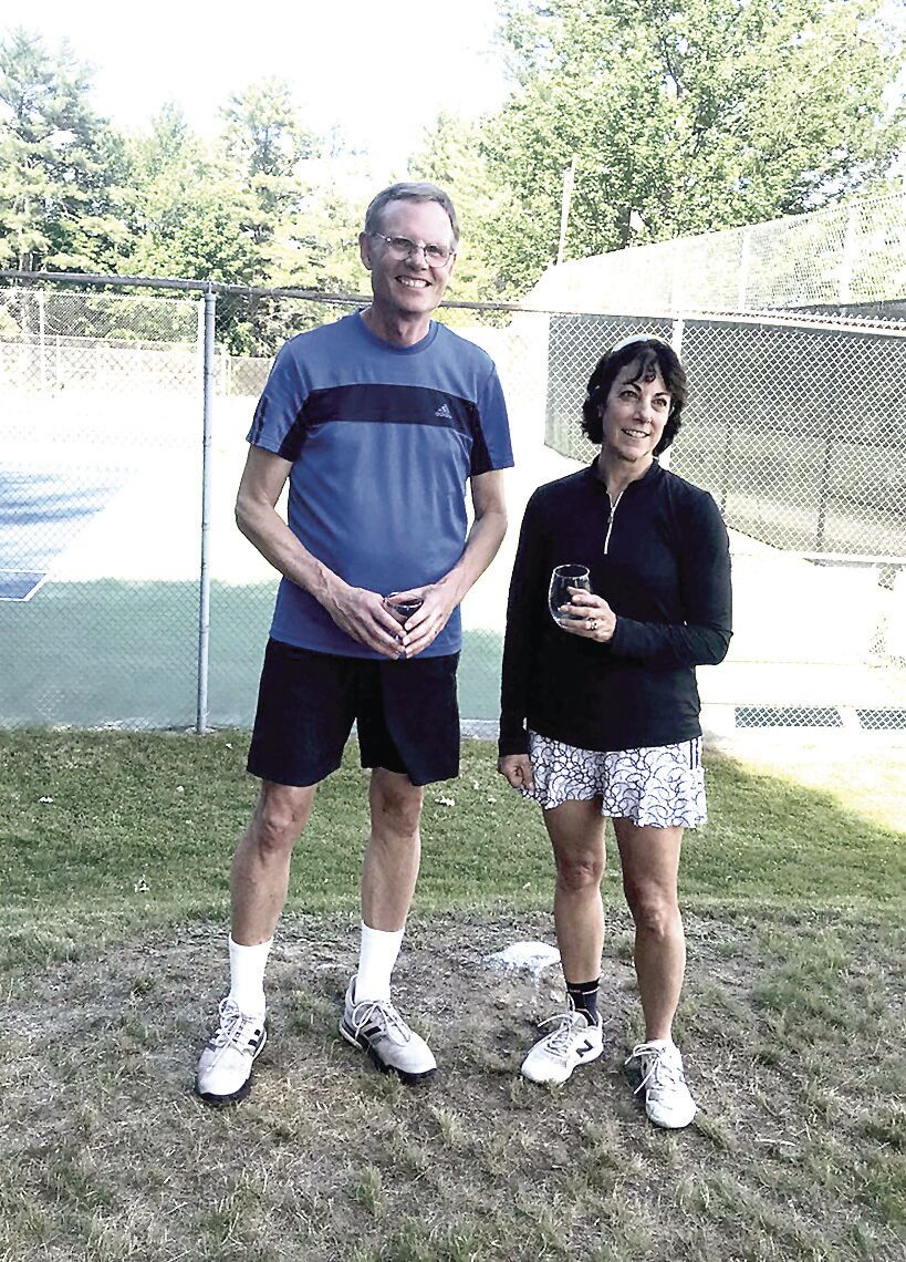 Bridgton Member-Guest consolation finali champions - Rick Siegrist and Christine Rothman