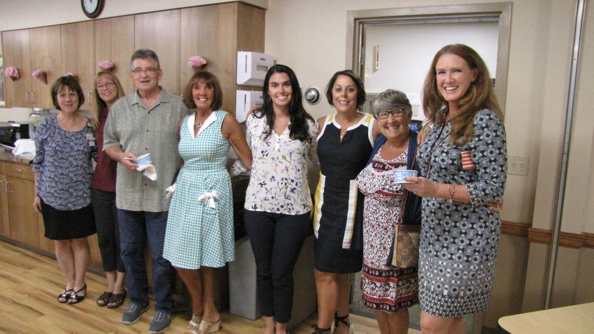 Badger agents visit Merriman House