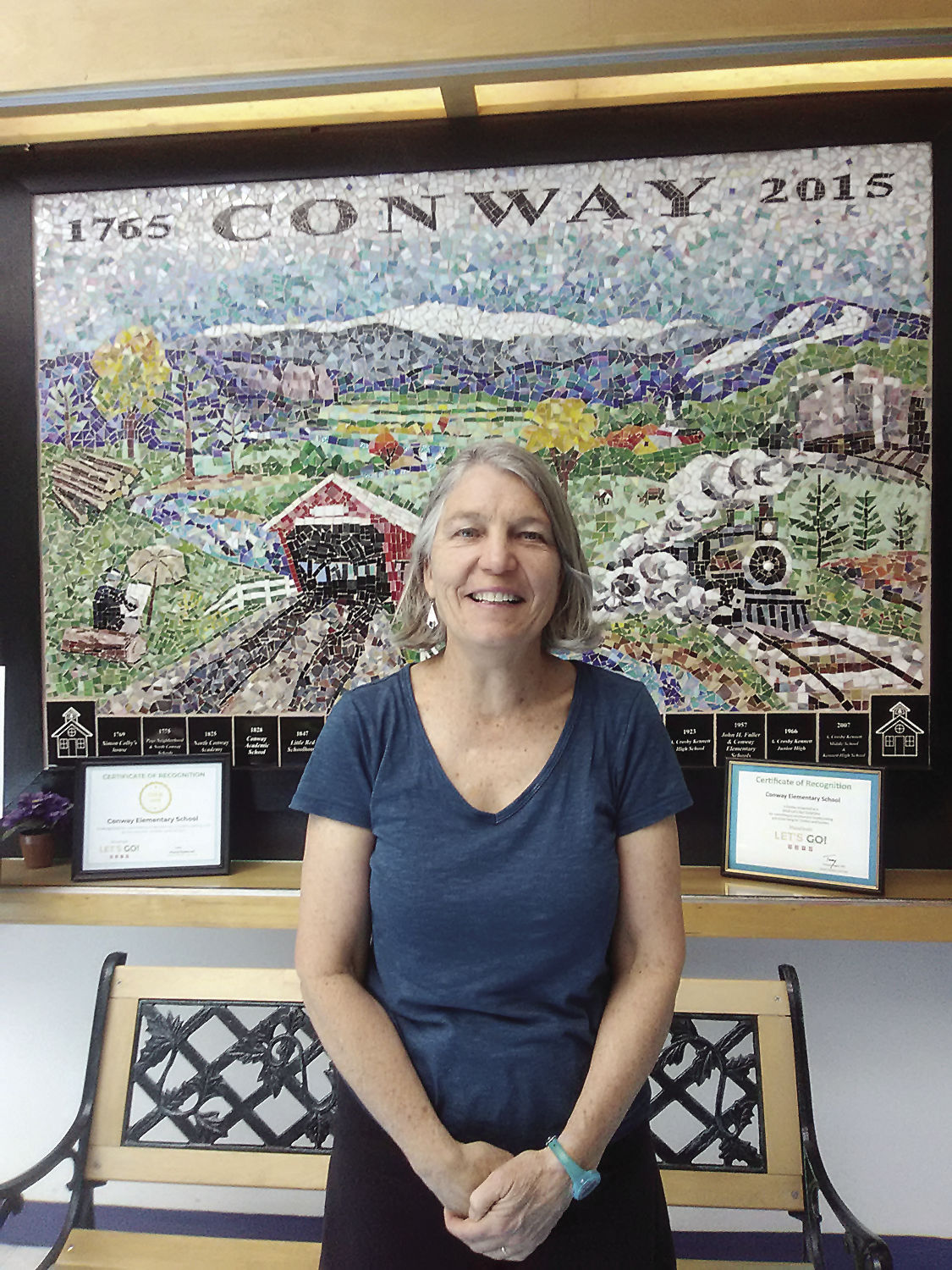 Conway School District retiree - Marianne Lucy