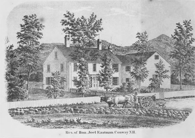 judge eastman's house 1861