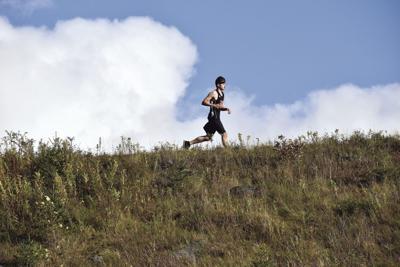 Berlin cross-country running - Jace Arsenault