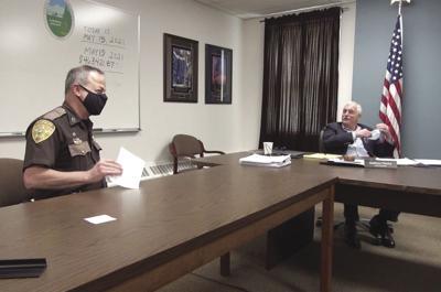 Plache sheriff Mask