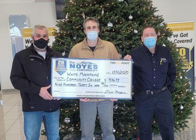Noyes Chevrolet makes donation to WMCC