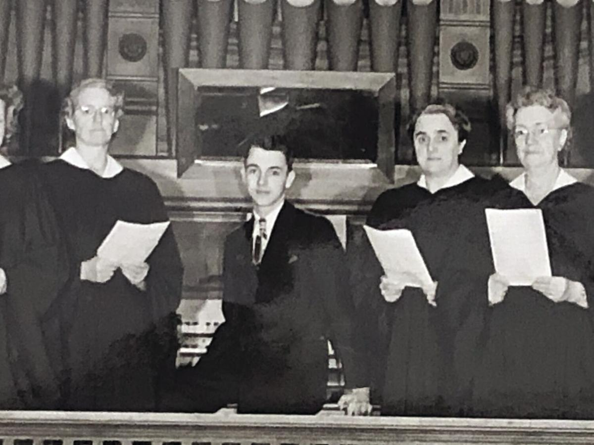 Merrimack mass choir director organist at age 12