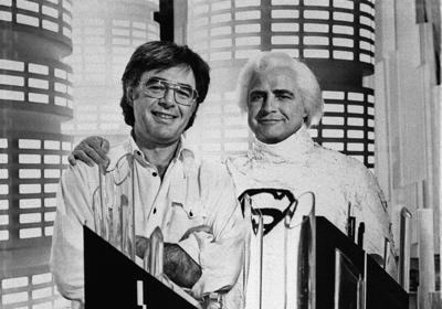 Richard Donner and Marlon Brando