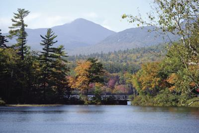 10-10-18 FOLIAGE CHOCORUA LAKE 1