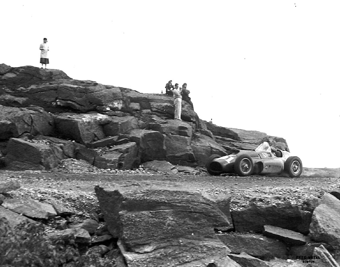 Mt. Washington Hillclimb - Carroll Shelby - 1957