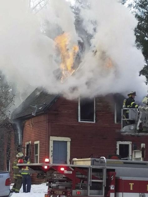 Fire destroys home on Turkey Street