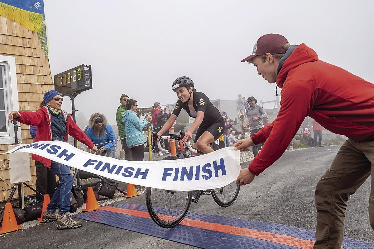 Bike Hillclimb - Aimee Vasse wins sixth title