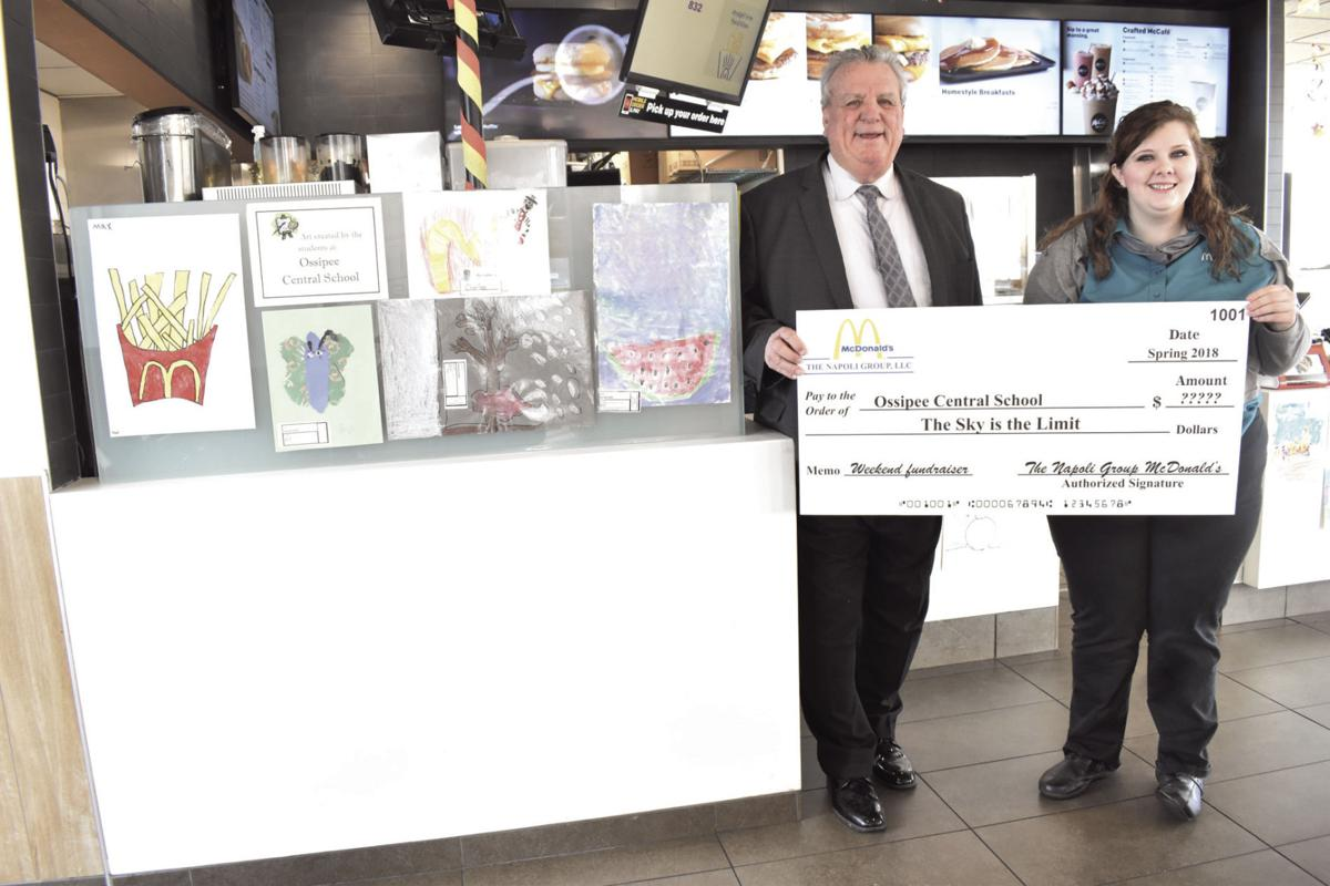 McDonald\'s helping out Ossipee school this weekend   Local News ...