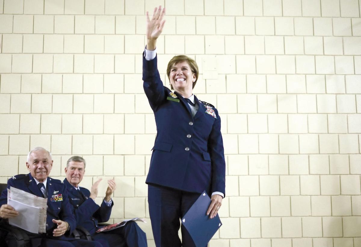 The sky was the limit: Gen  Lori Robinson retires from Air