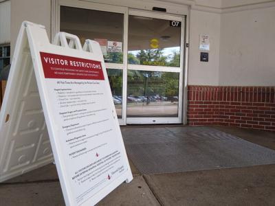 Memorial Hospital adjusts visitor limits sign