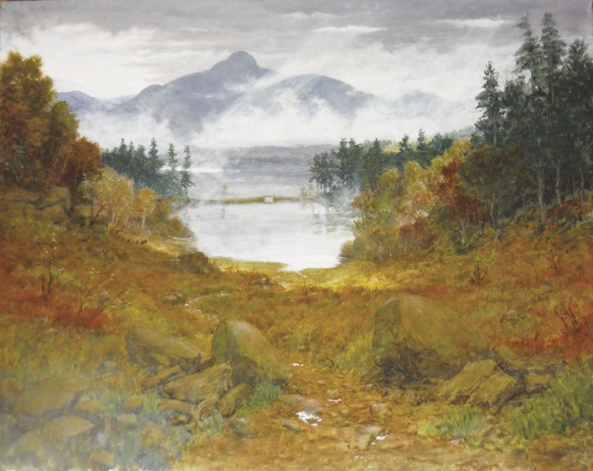 Byron Carr Chocorua Lake Painting