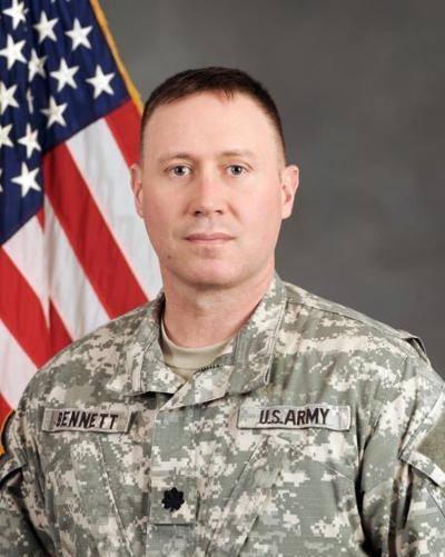 Army National Guard Lt. Col. Sean Bennett graduates from U.S. Army War College