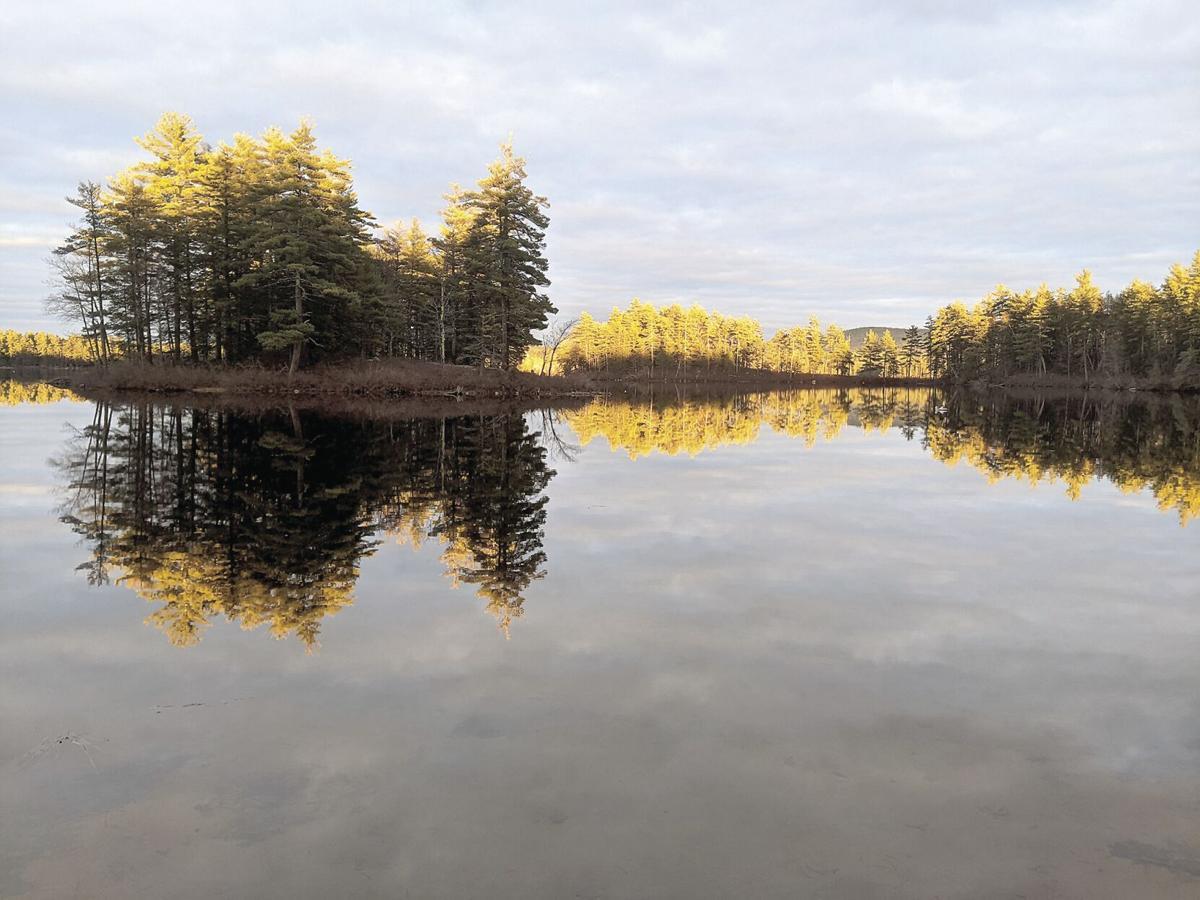 4-24-21 Break in the Clouds, Conway Lake.jpg