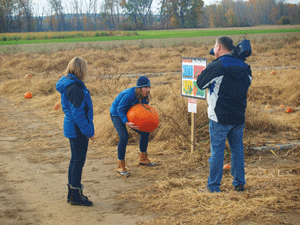 Weather Channel visits Sherman Corn maze, valley
