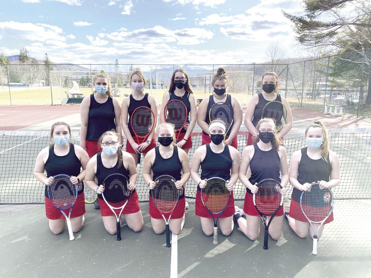Berlin High Girls Tennis Team 2021