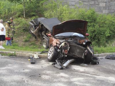July 4 crash north south Artist Falls