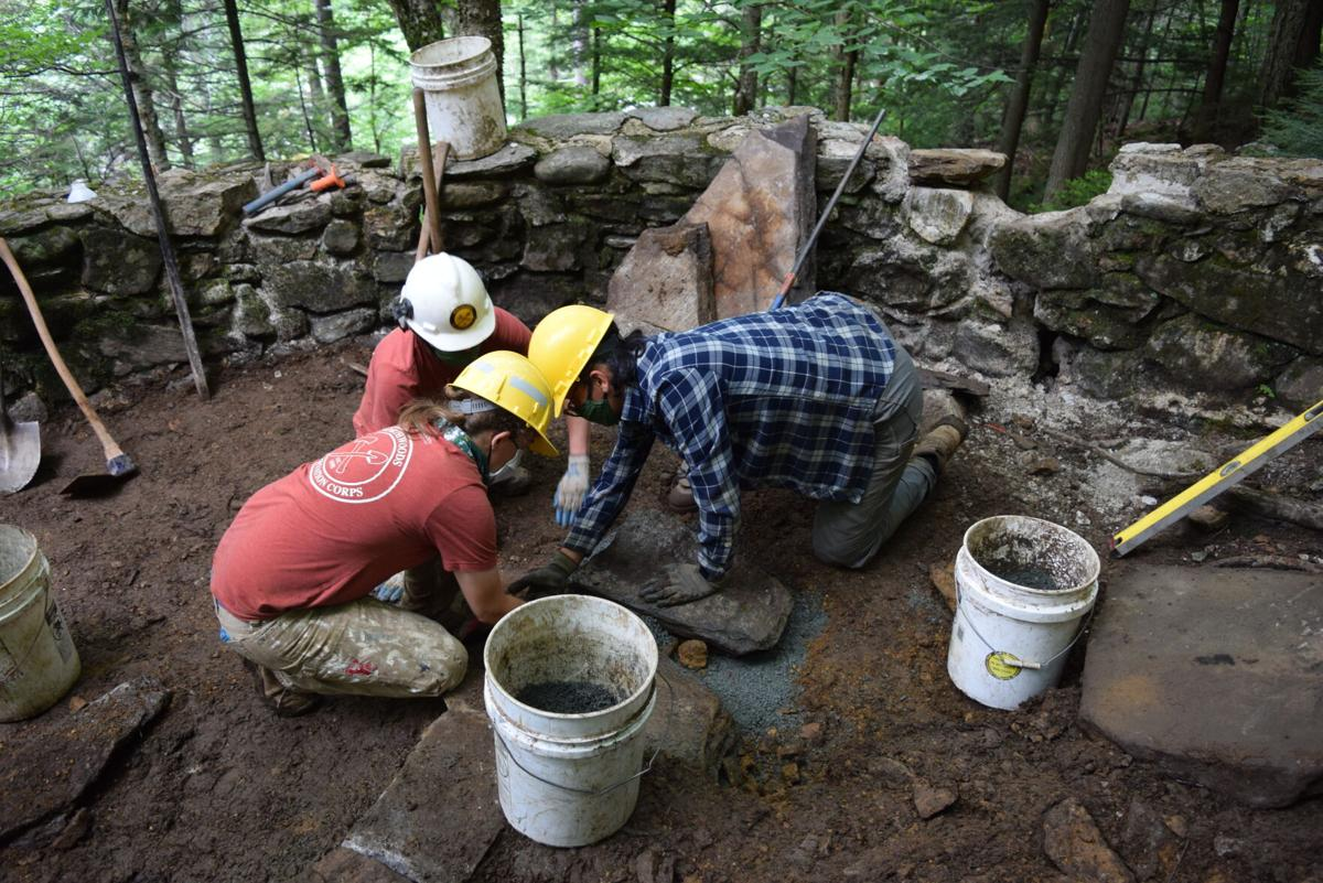 History is respected at Glen Ellis Trail project
